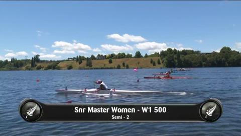 Video for 2019 Waka Ama Sprints - Snr Master Women - W1 500 Semi 2/2