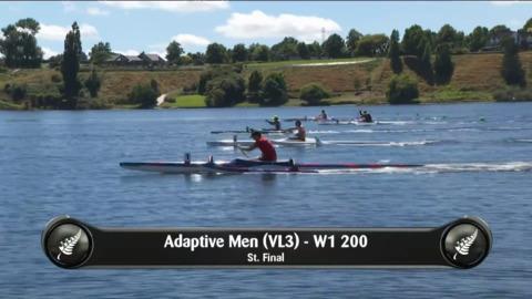Video for 2019 Waka Ama Sprints - Adaptive Men (VL3) - W1 - 200 St.Final