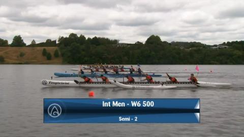 Video for 2020 Waka Ama Sprints - Int Men - W6 500 - Semi 2 / 2