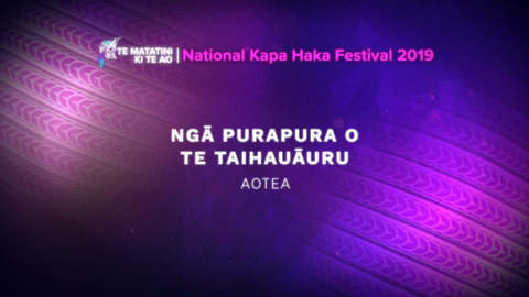 Video for Te Matatini ki te Ao 2019, Episode 3