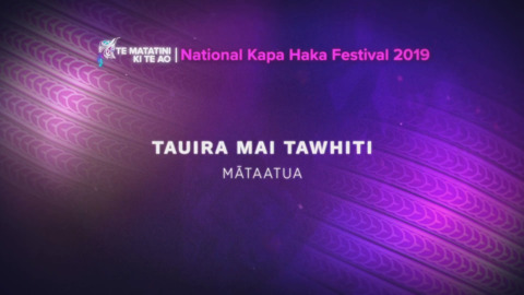 Video for Te Matatini ki te Ao 2019, Episode 35