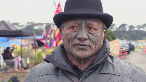 Video for Tame Iti visits Ihumātao