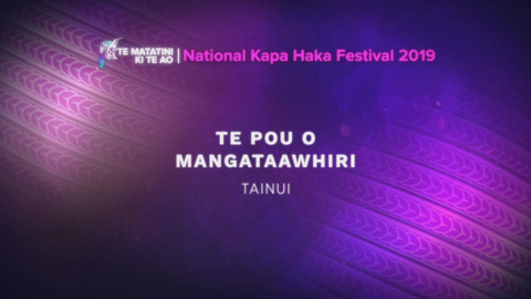 Video for Te Matatini ki te Ao 2019, Episode 43