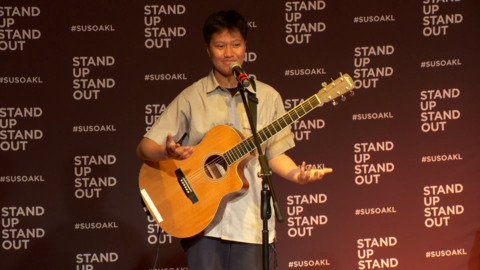 Video for Stand up Stand out 19, Lijah Mavaega