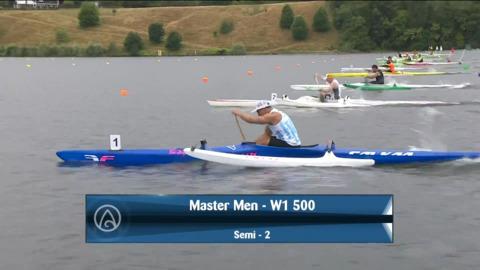 Video for 2021 Waka Ama Championships - Master Men - W1 500 Semi 2/2
