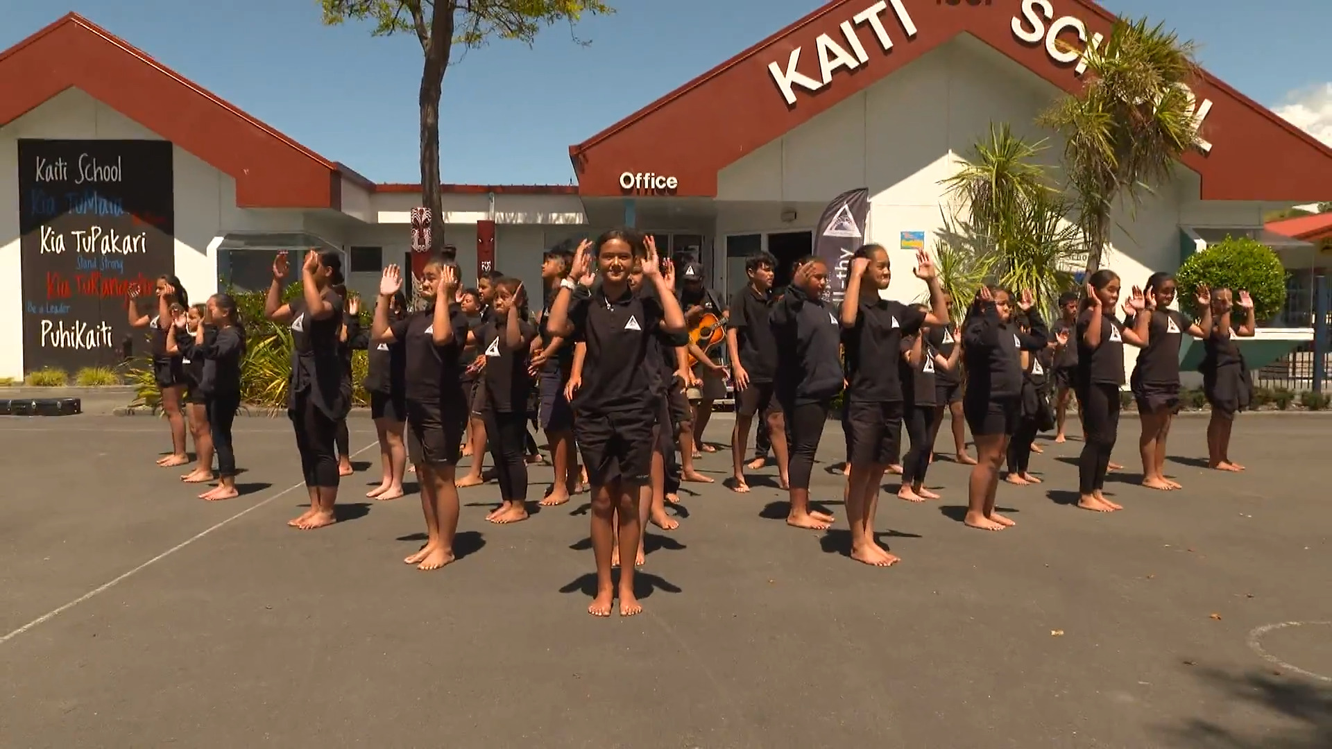 Video for Kaiti School students transform community space to smoke-free zone
