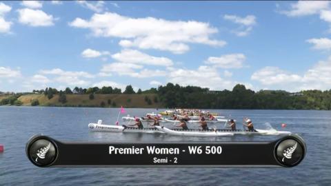 Video for 2019 Waka Ama Sprints - Premier Women - W6 500 Semi 2/2