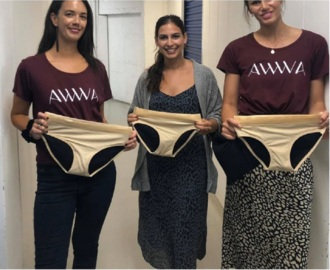 Video for Business donates 1000 pairs of period underwear to charity