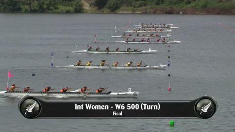 Video for 2019 Waka Ama Sprints - Int Women - W6 500 (Turn) Final
