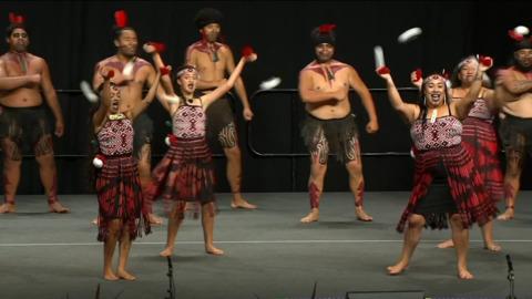 Video for 2020 Kapa Haka Regionals, Te Ahi Tipua (o Tūwharetoa), Poi