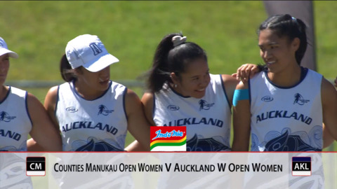 Video for 2019 Bunnings National Touch Champs, Open Women FINAL, Counties v Auckland White