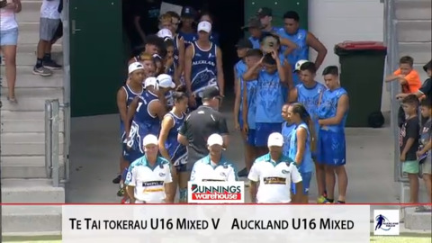 Video for 2019 Bunnings Jnr National Touch: 16MX FINALS, Te Tai Tokerau v Auckland