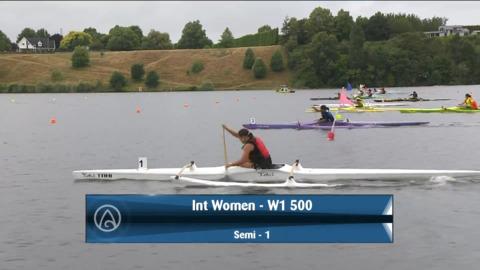 Video for 2021 Waka Ama Championships - Int Women - W1 500 Semi 1/2