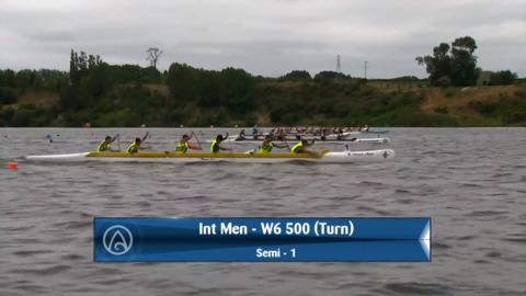 Video for 2020 Waka Ama Sprints - Int Men - W6 500 (Turn) Semi 1 / 2