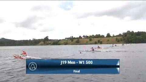 Video for 2021 Waka Ama Championships - J19 Men - W1 500 Final
