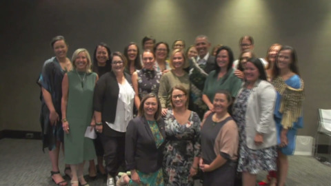 Video for Obama Foundation inspired by Māori business women
