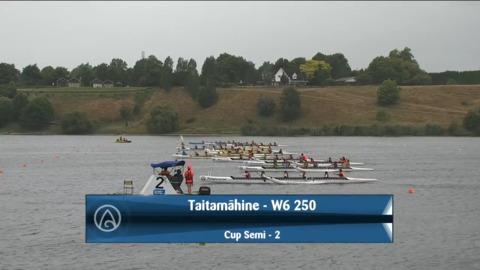 Video for 2021 Waka Ama Championships - Taitamaahine - W6 250 Cup Semi 2/2