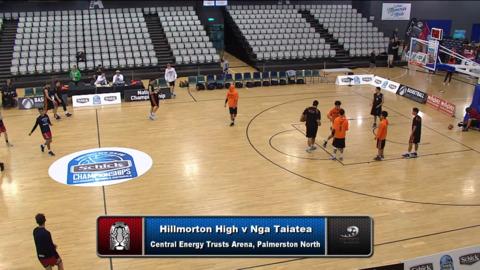 Video for Schick Basketball Champs 2018, Hillmorton High v Nga Taiatea