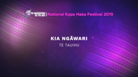 Video for Te Matatini ki te Ao 2019, Ūpoko 38