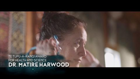 Video for Matariki Awards 2018 - Dr Matire Harwood