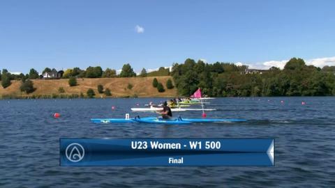 Video for 2020 Waka Ama Sprints - U23 Women - W1 500 Final