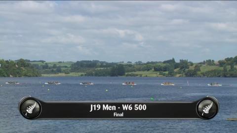 Video for 2019 Waka Ama Sprints - J19 Men - W6 500 Final