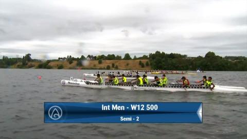 Video for 2020 Waka Ama Sprints - Int Men - W12 500 Semi 2 / 2