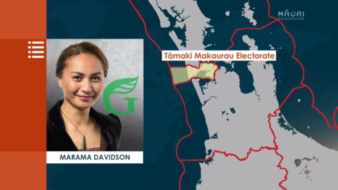 Video for Two wāhine Māori announce their stand in Māori electorates