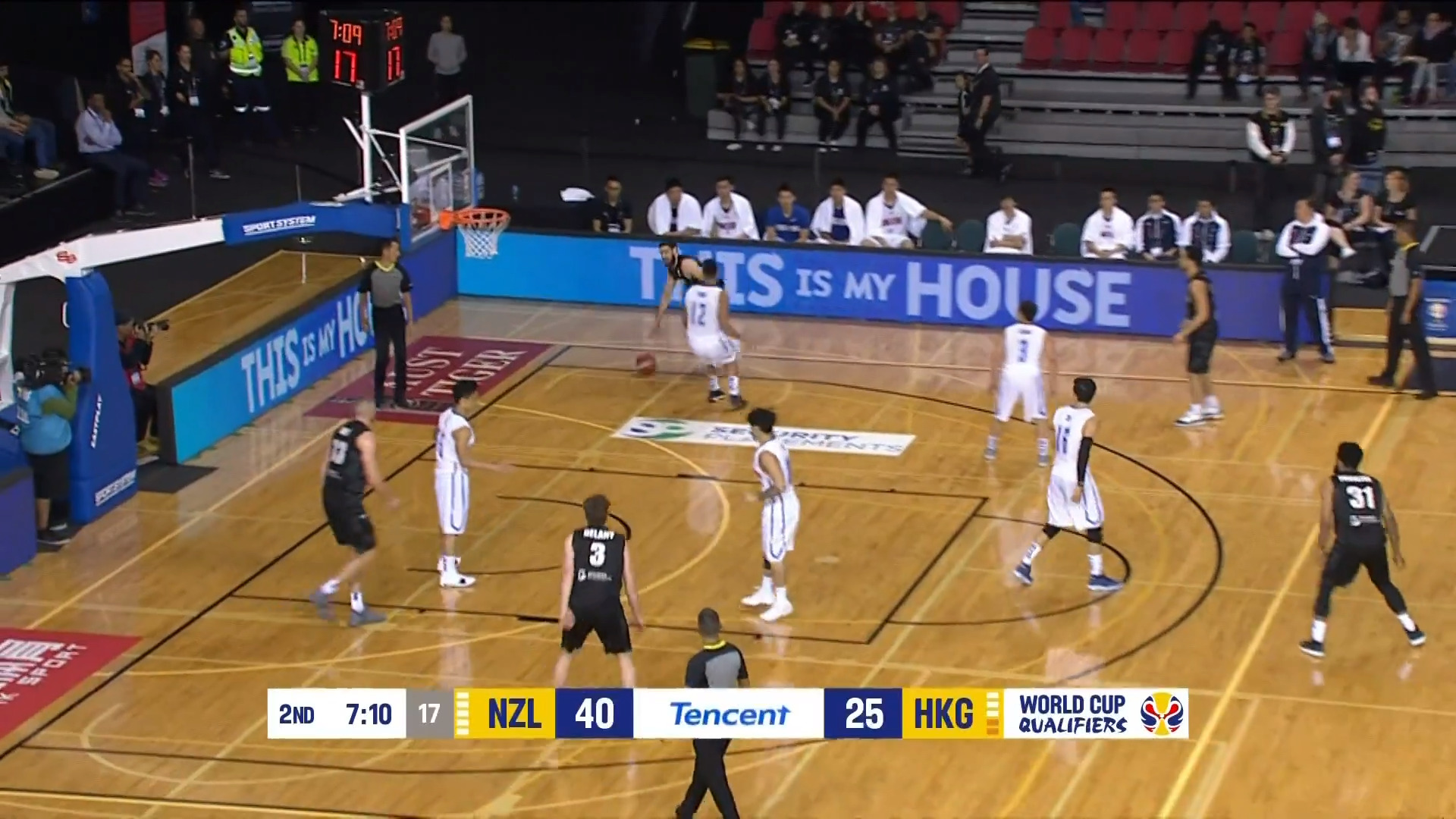 Video for Tall Blacks name squad for World Champ qualifyers