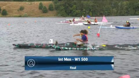 Video for 2021 Waka Ama Championships - Int Men - W1 500 Final