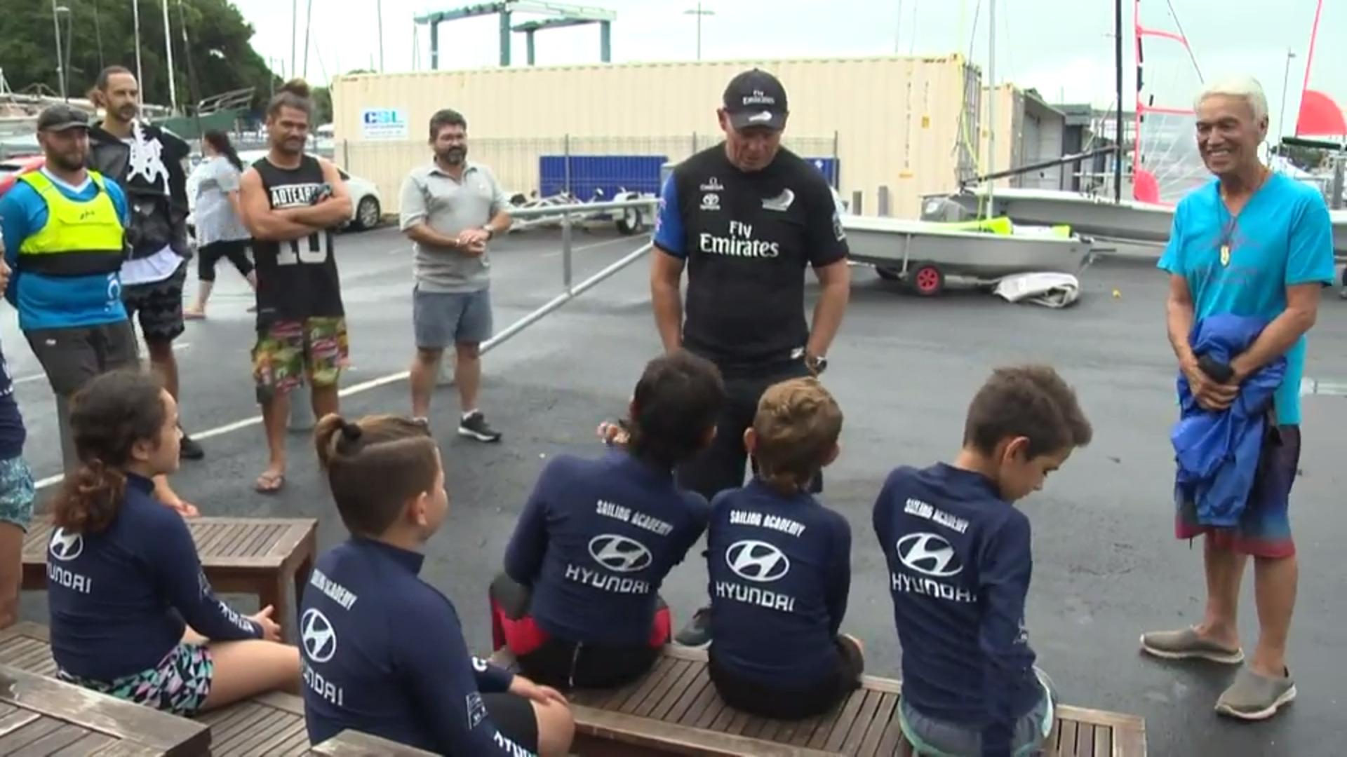 Video for Ngāti Whātua Ōrākei youth learn from Team NZ