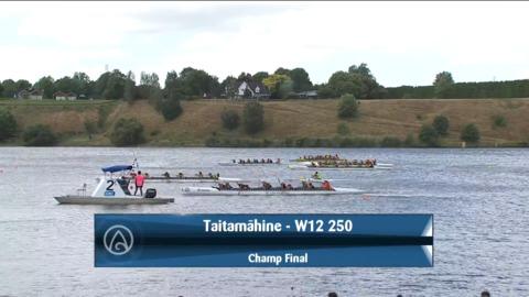 Video for 2021 Waka Ama Championships - Taitamaahine - W12 250 Champ Final