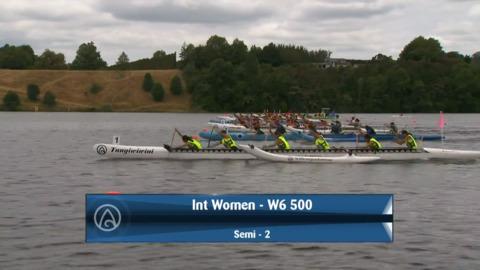 Video for 2020 Waka Ama Sprints - Int Women - W6 500 - Semi 2 / 2