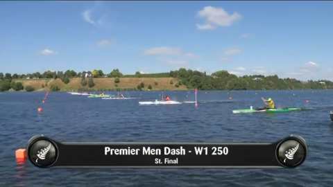 Video for 2019 Waka Ama Sprints - Premier Men Dash - W1 250 St.Final