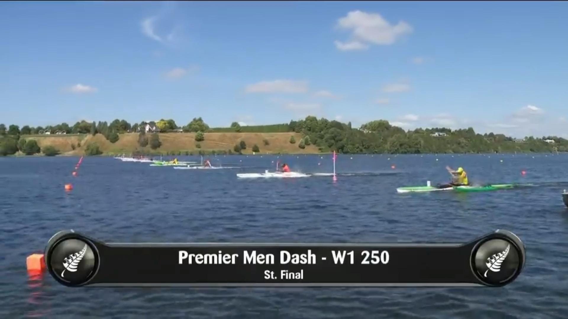 Video for 2019 Waka Ama Sprints - Premier Men Dash - W1 250 St.Final