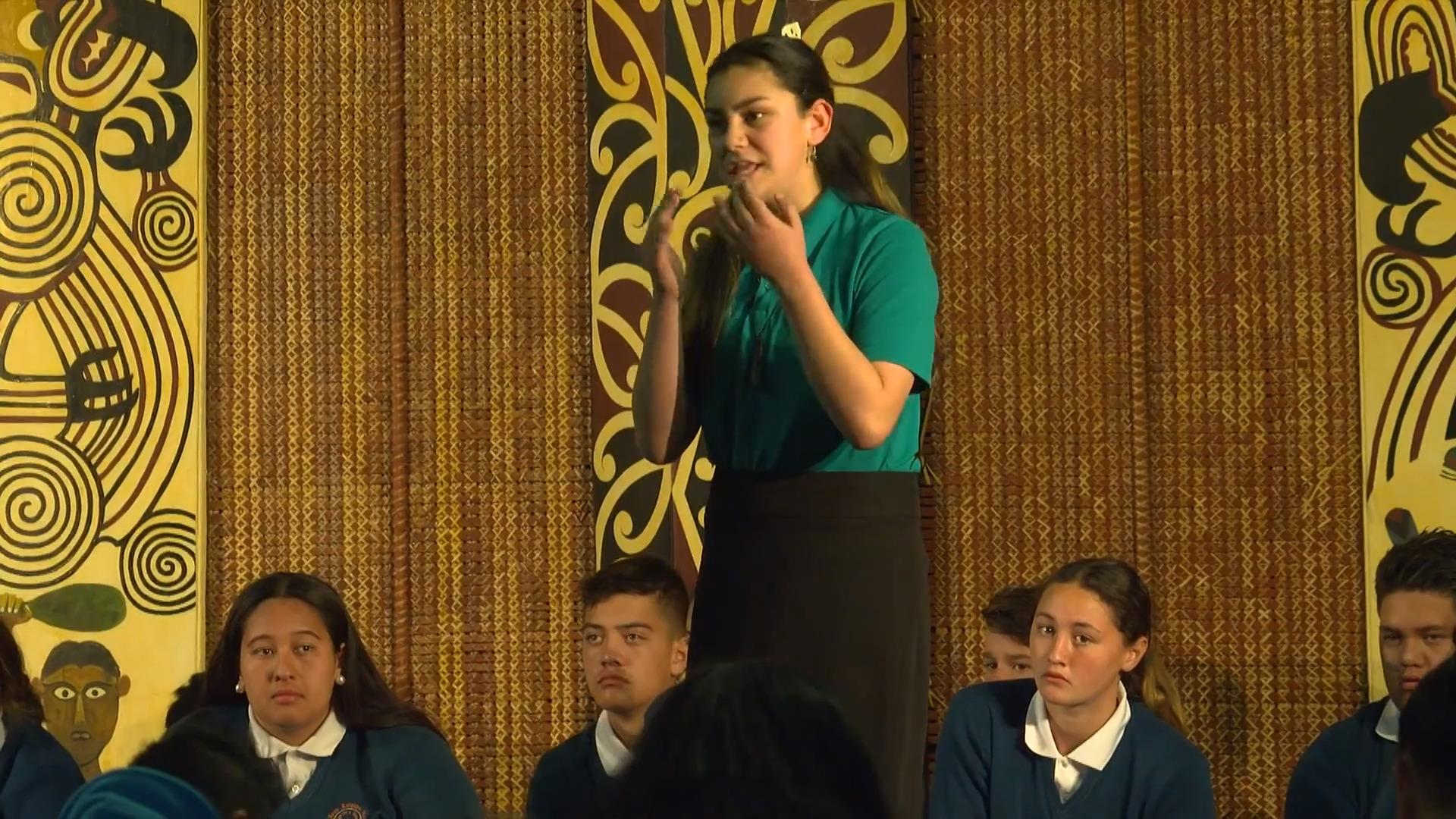 Video for Ngā Pū Kōrero fostering a new generation of orators