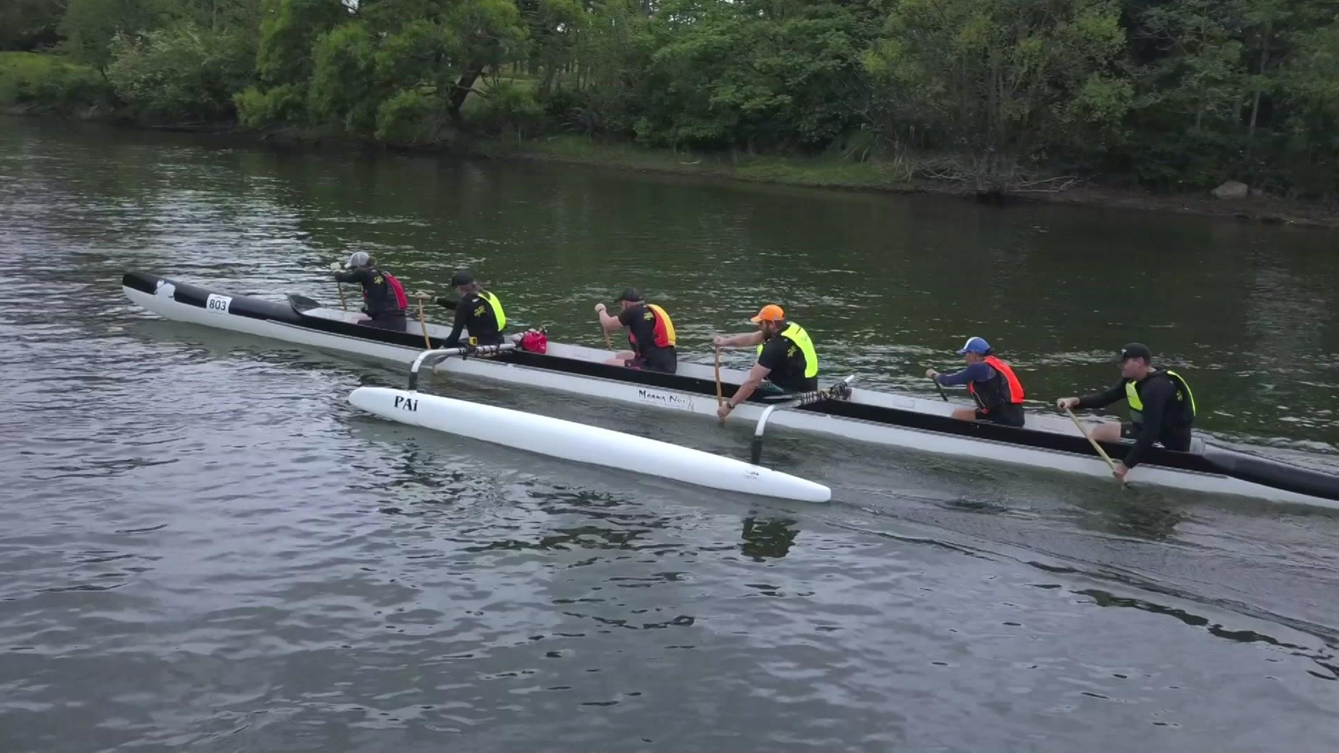 Video for Waka race 100kms down Waikato River