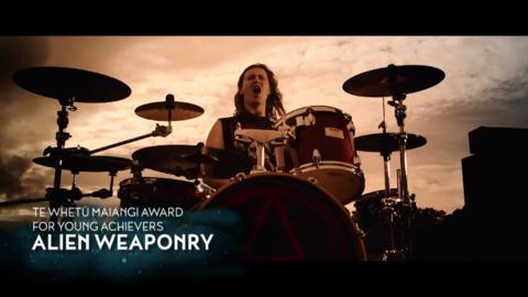 Video for Matariki Awards 2018 - Alien Weaponary