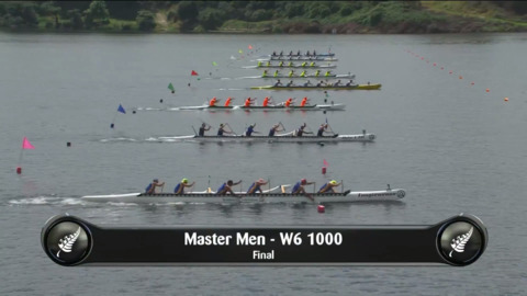 Video for 2019 Waka Ama Sprints - Master Men - W6 1000 Final