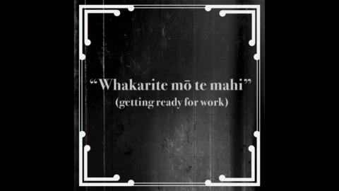 Video for Mahuru Māori 2020: Kupu: Whakarite mō te mahi,