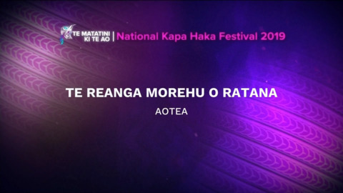 Video for 2019 Te Matatini, Te Reanga Morehu o Ratana, Full Bracket