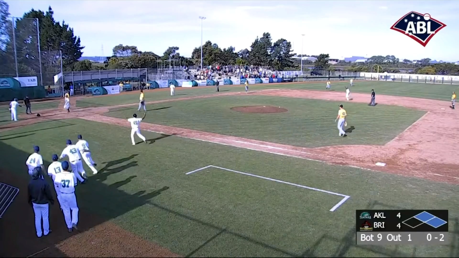 Video for Tuatara baseball team take a 9-1 win