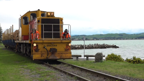 Video for Napier-Wairoa rail line reopens