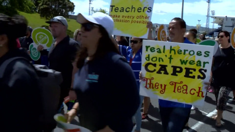 Video for Teachers reject latest pay offer