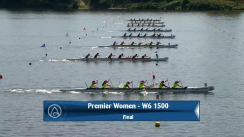 Video for 2020 Waka Ama Sprints - Premier Women - W6 1500 Final