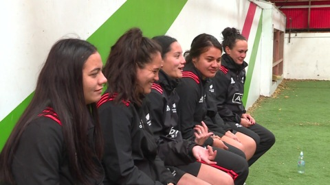 Video for Black Ferns to visit women's prison