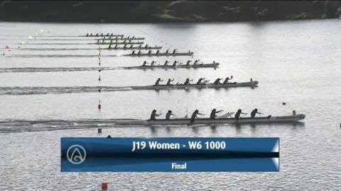 Video for 2021 Waka Ama Championships - J19 Women - W6 1000 Final