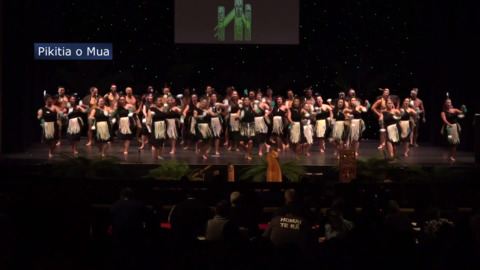 Video for Same faces, new groups for Rangitāne kapa haka