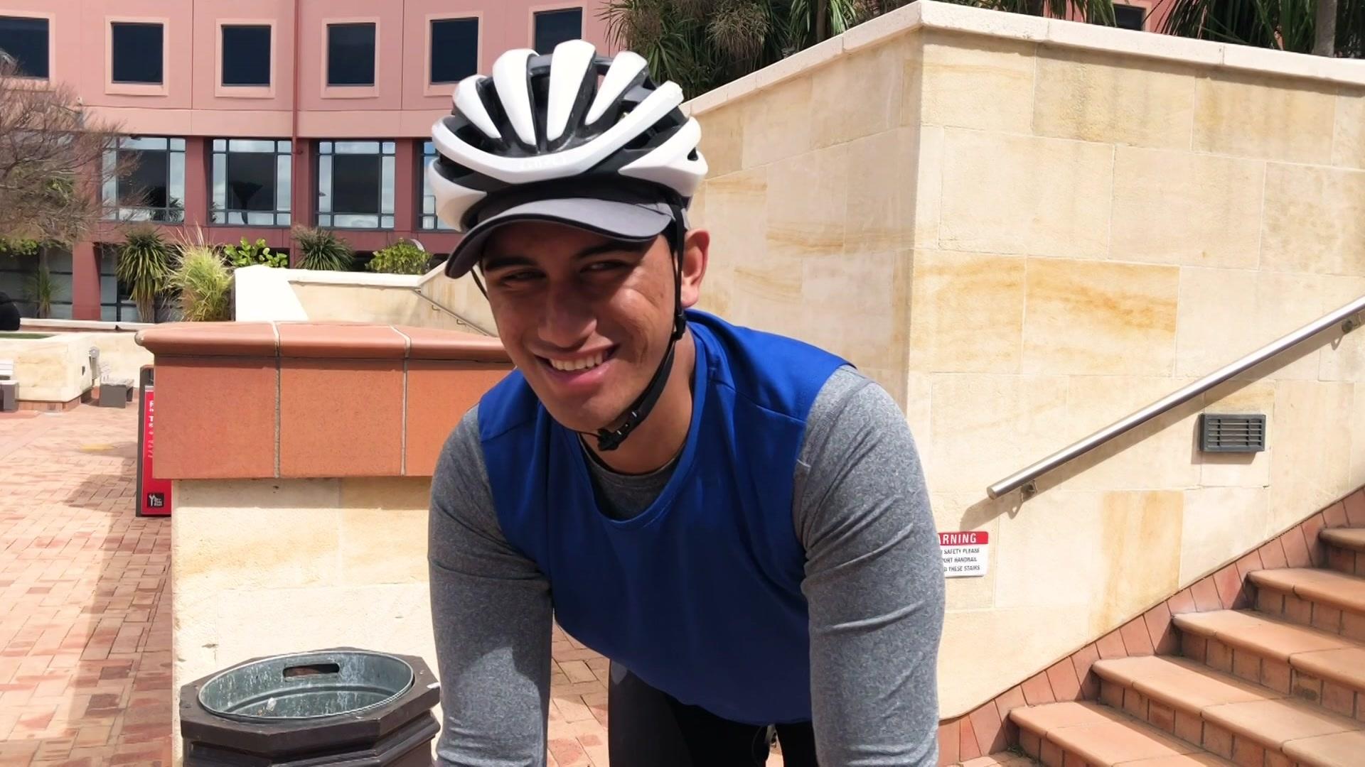 Video for Cycling for tamariki challenge passes halfway mark
