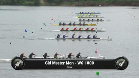 Video for 2019 Waka Ama Sprints - Gld Master Men - W6 1000 Final